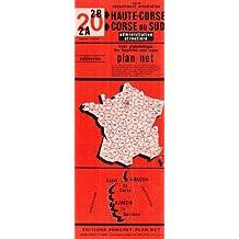 Carte routière : Corse