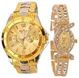 Fighter Rosra Gold dial Men's watch & Rh...