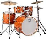 MAPEX st5295fic Storm Rock 5-teiliges Schlagzeug Set mit Chrom Hardware, Kampfer Holz Getreide
