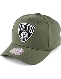Gorra de béisbol Flexfit 110 Brooklyn Nets de Mitchell   Ness - Oliva 7265d8c2813