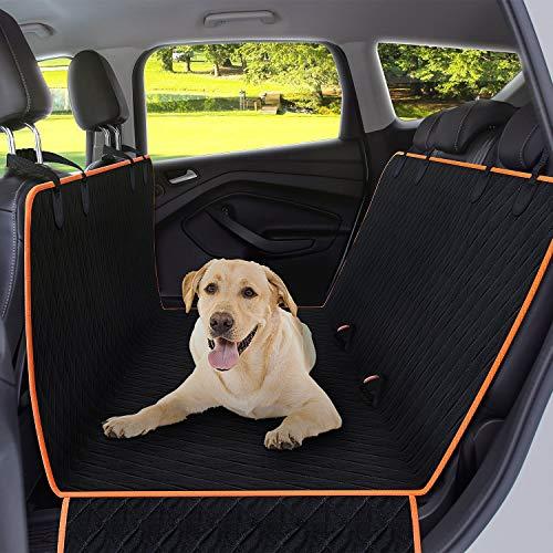 ZISITA Hundedecke Für Auto Rückbank Hunderücksitzbezug Protector Wasserdicht Kratzfest rutschfeste Hängematte Für Hunde, Gegen Schmutz Und Haustier Pelz Autositzbezüge