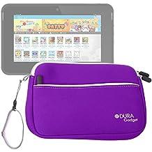 DURAGADGET Funda De Neopreno Morada Para La Tablet Kurio 7s - ¡Perfecta Para Guardar La Tableta De Sus Hijos!