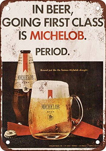 1967-michelob-cerveza-vintage-look-reproduccion-metal-tin-sign-8-x-12-pulgadas-2