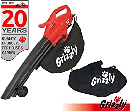 Grizzly Elektro 3in1 Laubsauger