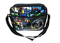 Marvel Courier Messenger Bag, 34 cm, Black