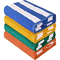 Utopia Towels Beach Towel Cabana Stripe 30x60