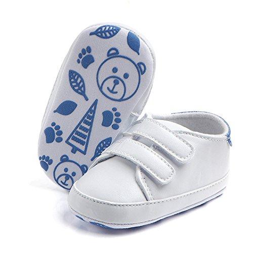 Ginli scarpe bambino,Scarpe Primi Passi Scarpine Neonato Scarpe Bambino Fila Neonato Neonato Baby Boy Girl Morbido Suola Greppia Scarpa da Tennis Neonato