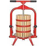 Macintosh Fruits Press 4Gallon + Panier à bois pour cidre, vin, pommes 5 Gallon +...