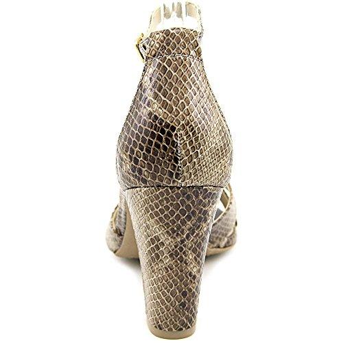 Rialto Raziela Femmes Cuir Sandales Taupe-E-print