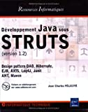Développement Java sous STRUTS : Version 1.2