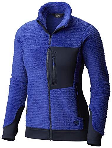 Mountain Hardwear Damen Jacke Monkey Woman, Damen, Blau - Blue Print, Medium Mountain Hardwear Monkey