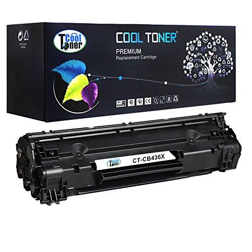 XL Cool Toner kompatibel CB436A 36A Schwarz Toner für HP LaserJet P1005...