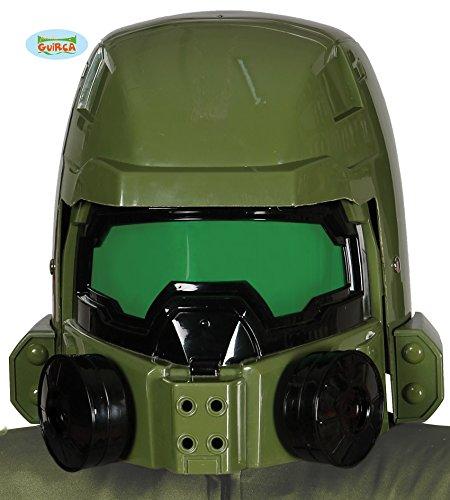 Guirca grüner Weltraumkrieger Soldaten Sternen Helm Master Krieger Helm für - Halo Soldaten Kostüm