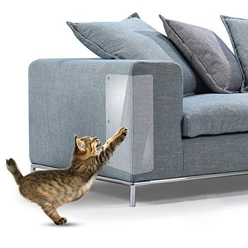 tch Guard Möbelschutz Klare Guard von Cat Kratzschutz Clawing Möbel Abweisend Tisch Set Sofa Slipover Pads MZ060 (Small(14x46cm)) ()