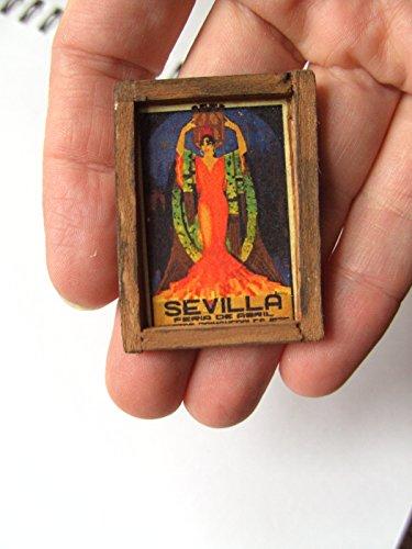 ooak-1-12-escala-dollhouse-miniatura-vintage-signo-espanol-sevilla