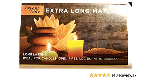 Bryant And May Extra Long Matches Box x 12 3 Pack