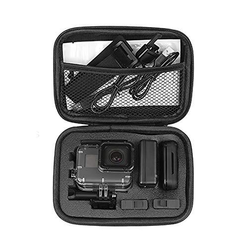 Características: 1. organizar tu cámara GoPro HD Hero y accesorios  2. mantenga su cámara segura y sonido de posibles daños 3. Fit para GoPro 7/6/5/4/HERO(2018) y accesorios 4.el interior tiene recortes de espuma para adaptarse a la GoPro y accesorio...