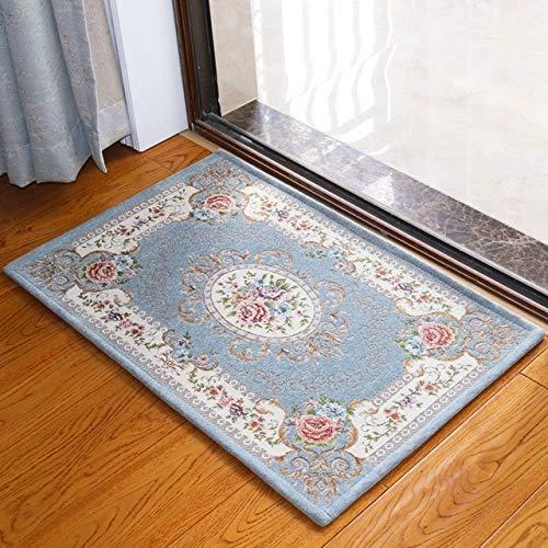 MYSdd Bad Teppich, raumdekoration, blumenteppich, Wohnzimmer küche bodenmatte, Schlafzimmer Teppich rutschfeste Bad Matte, Bad Matte-1, über 50 cm x 80 cm