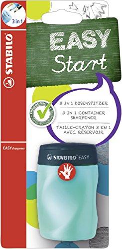 Dosen-Spitzer - STABILO EASYsharpener - 1er Pack - 3in1, petrol, für Rechtshänder