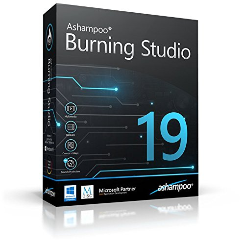 Burning Studio 19 deutsche Vollversion (Product Keycard ohne Datenträger) (Dvd-cd Burning Software)