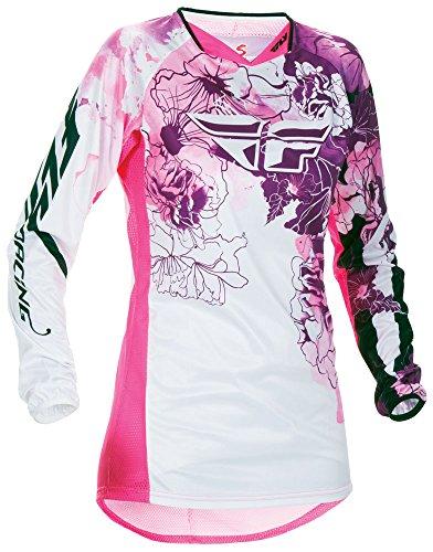 Fly Racing Kinetic Motocross/Mountainbike Jersey Lady pink-purple M