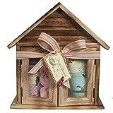 Gloss. Fresh Bouquet Casa di Bagno in legno Granada/tè Verde/Lavanda 4pezzi