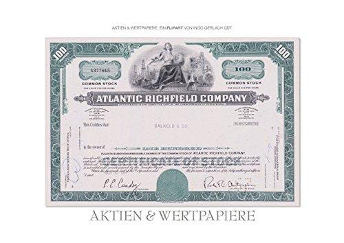 Aktien & Wertpapiere (Posterbuch DIN A4 quer): Wertvolle alte amerikanische Aktien wurden zu einem ansprechenden Flipart gestaltet. (Posterbuch, 14 ... [Taschenbuch] [Jun 05, 2013] Gerlach, Ingo