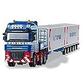 Unbekannt FEI Babyspielzeug Behälter-Art-Flachbett-LKW-1:50 Technik-Fahrzeug-Legierungs-LKW-Modell semi-verbundenes großes LKW-Spielzeug Frühe Erziehung