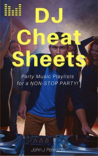 DJ Cheat Sheets: Event: Playlists/Setlists (English Edition)