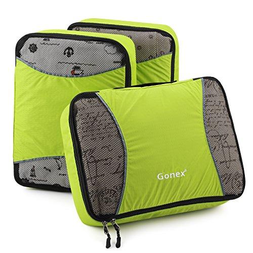 Gonex Organisateur Valise Sacs de Rangement Cube Housse Vetement Voyage