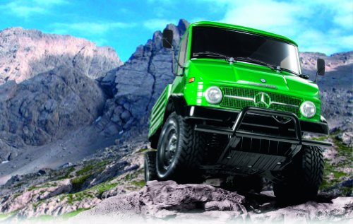 RC Auto kaufen LKW Bild 2: TAMIYA 300058457 - RC Mercedes Benz Unimog 406 CC-01 1:10*