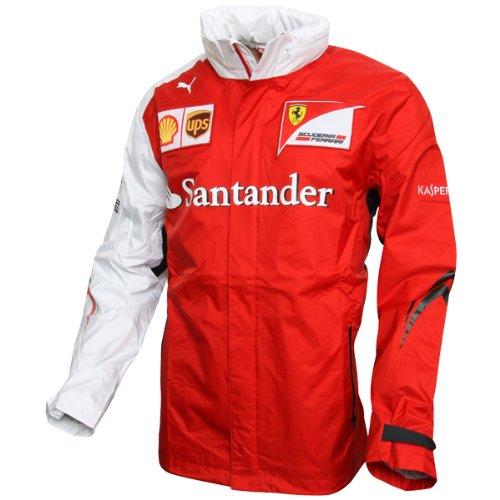 Puma Scuderia Ferrari SF Team Jacke Ferrari Formel1 Herren Jacke Alonso rot/weiß, XL