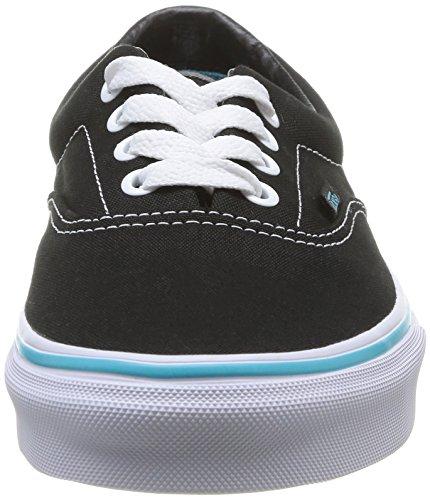 Vans U Era Vy6Xfjx, Baskets mode mixte adulte Noir (Black/Blue Curacao)