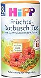 Hipp Früchte-Rotbusch Tee zahnfreundlich 200g, 6er Pack (6 x 200 g)