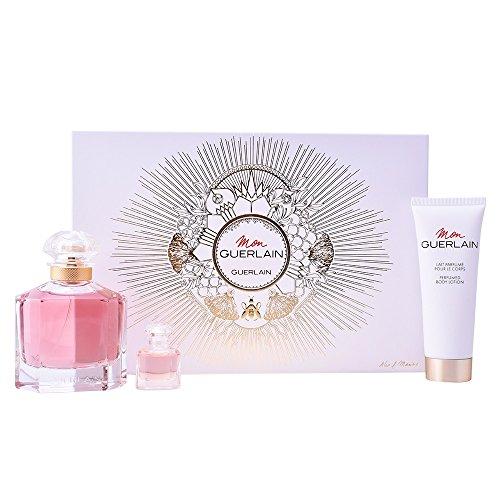 GUERLAIN Mon Set Eau de Parfum, 100 ml + Mini, 5 ml + Body Lotion, 75 ml -