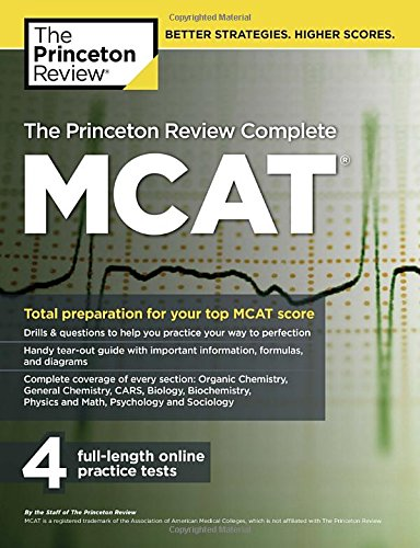 Cracking the MCAT with 4 Practice Tests 2015-2016 (Princeton Review Mcat)