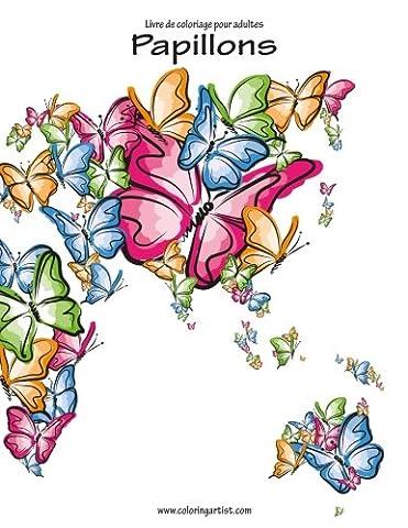 Livre de coloriage pour adultes Papillons 1