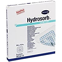 Hydrosorb Comfort Wundverband 12,5x12,5 cm, 5 St preisvergleich bei billige-tabletten.eu