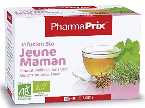 PHARMAPRIX Infusion Bio Jeune Maman - 20 sachets