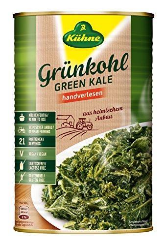 Preisvergleich Produktbild Kühne Grünkohl küchenfertig,  4250 ml Dose,  1er Pack (1 x 2.8 kg)