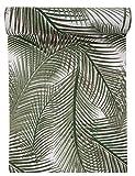 Chemin de table vert jungle 28cm x3m (x1) REF/5805