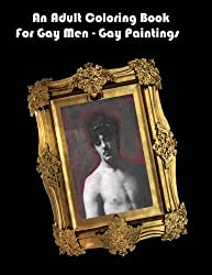 An Adult Coloring Book For Gay Men - Gay Paintings