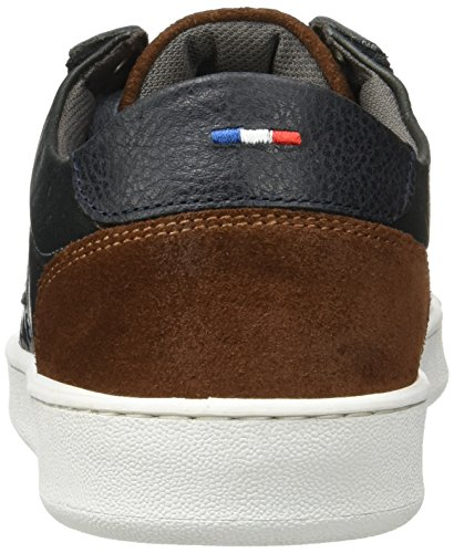 Le Coq Sportif Herren Offcourt Leather Suede Trainer Low Grau (Dark Shadow)
