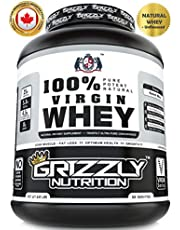 Grizzly Nutrition - 100% Virgin whey protein - with digesti