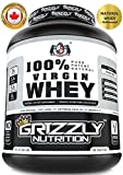Grizzly Nutrition - 100% Virgin whey protein - with digestive enzymes & probiotics