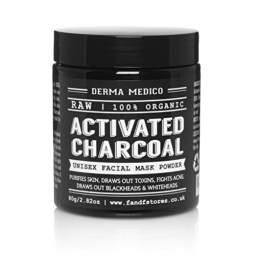 Activated Charcoal coconut shell facial mask