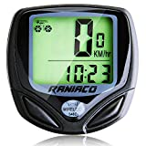 Best Wireless Bike Computers - Raniaco Wireless Bike Computer Bycicle Speedometer Cycling Odometer Review