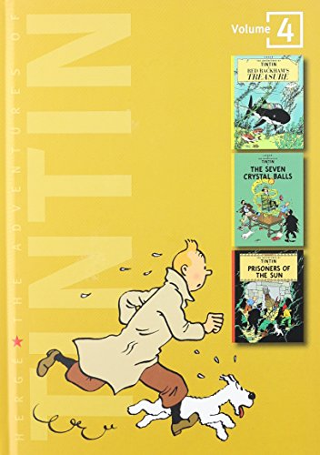 The Adventures of Tintin, Volume 4: Red Rackham's Treasure, The Seven Crystal Balls, and Prisoners of the Sun (Tintin Three-in-one)