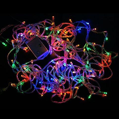 crownroyaljack 15 m 150 LED Lumière à cordes étanche Cuivre