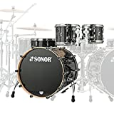Sonor ProLite PL 12 Stage 3 Ebony White Stripes · Schlagzeug